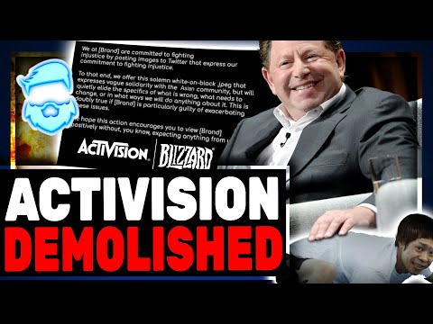 Instant Regret! Blizzard Virtue Signals In Support Of Asians It Ends HILARIOUSLY Bad For Activision