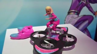 Barbie Star Light Adventure RC Hoverboard ~ Toy Fair 2016
