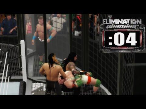 Elimination Chamber - WWE 2K16 - Que Lokura
