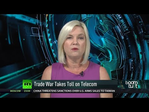 Trade War's Toll on Telecom  & Chinese Car Sales Slump