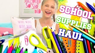 Back to School Shopping at Target and Back to School Supplies Haul 2017!
