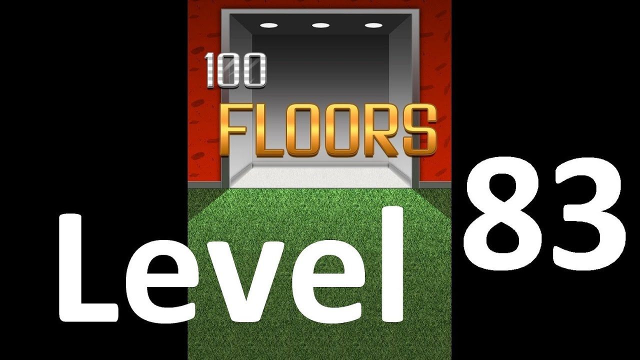 100 Floors Level 83 Solution Floor 83 Youtube