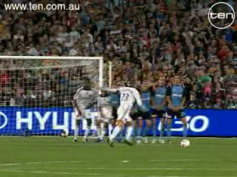 David Beckham LA Galaxy V Sydney FC Bend It Like Beckham