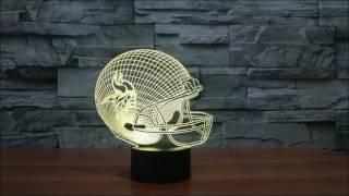 3D Lighting Color Changing Lamps!