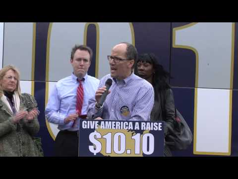 #RaiseTheWage Cleveland Secretary Tom Perez US Dept of Labor