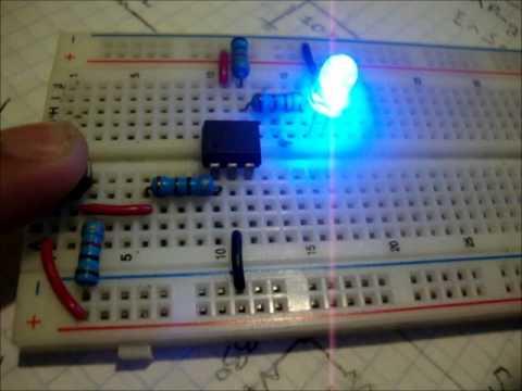 Circuito Optoacoplador : Optoacoplador n y n youtube