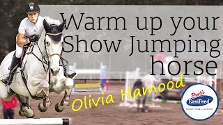 How Olivia Hamood warms up her Show Jumping horse