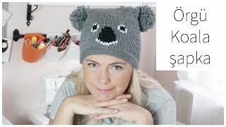 You won't believe how easy it is! Knitting koala hat / easiest knitting models
