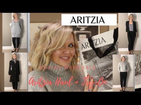 Aritzia Boxing Week Haul + Try-On