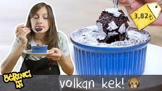 Volkan Kek nasıl YAPILMAZ =))   Merlin Mutfakta Yemek Tarifleri