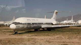 309th AMARG Aerospace Maintenance and Regeneration Center, The Boneyard, Tucson tour pt 2 1080HD