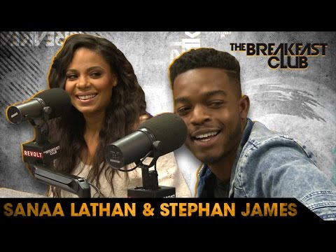 Sanaa Lathan & Stephan James Talk 'Shots Fired' & More with The Breakfast Club