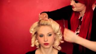 Veronica Lake Hairstyle Tutorial