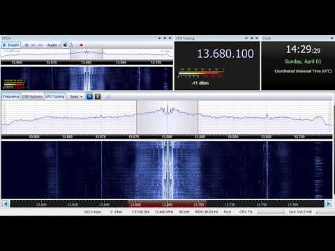 01 04 2018 Radio Japan Farsi vs KVOH Voice of Hope Africa English 1430 on 13680 Issoudun vs Lusaka