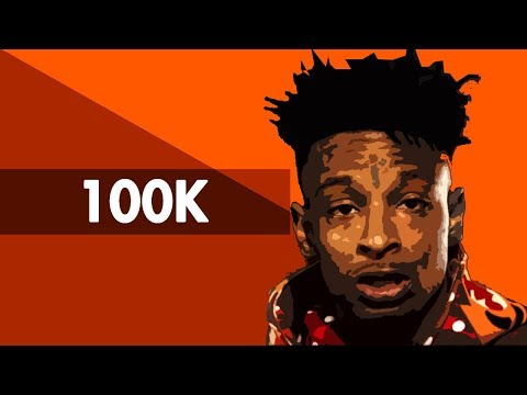 """100K"" Hard Trap Beat Instrumental 2018 