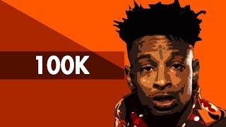 """100K"" Hard Trap Beat Instrumental 2018 | Dark Lit Rap Hiphop Freestyle Trap Type Beats | Free DL"