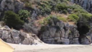 Путешествуя по Европе. Греция, Пелопоннес, пляж Янискари (Gianiskari)(, 2016-07-24T10:36:38.000Z)