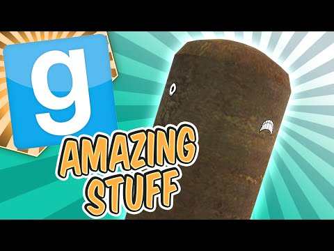 Gmod Amazing Stuff - Jeffry The Brown Whale