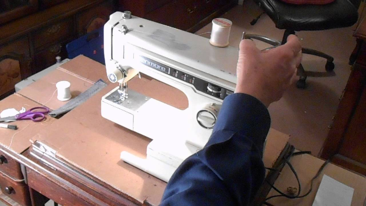 How To Wind A Bobbin On Kenmore Sewing Machine The Correct Way Tutorials Winding Your And Threading