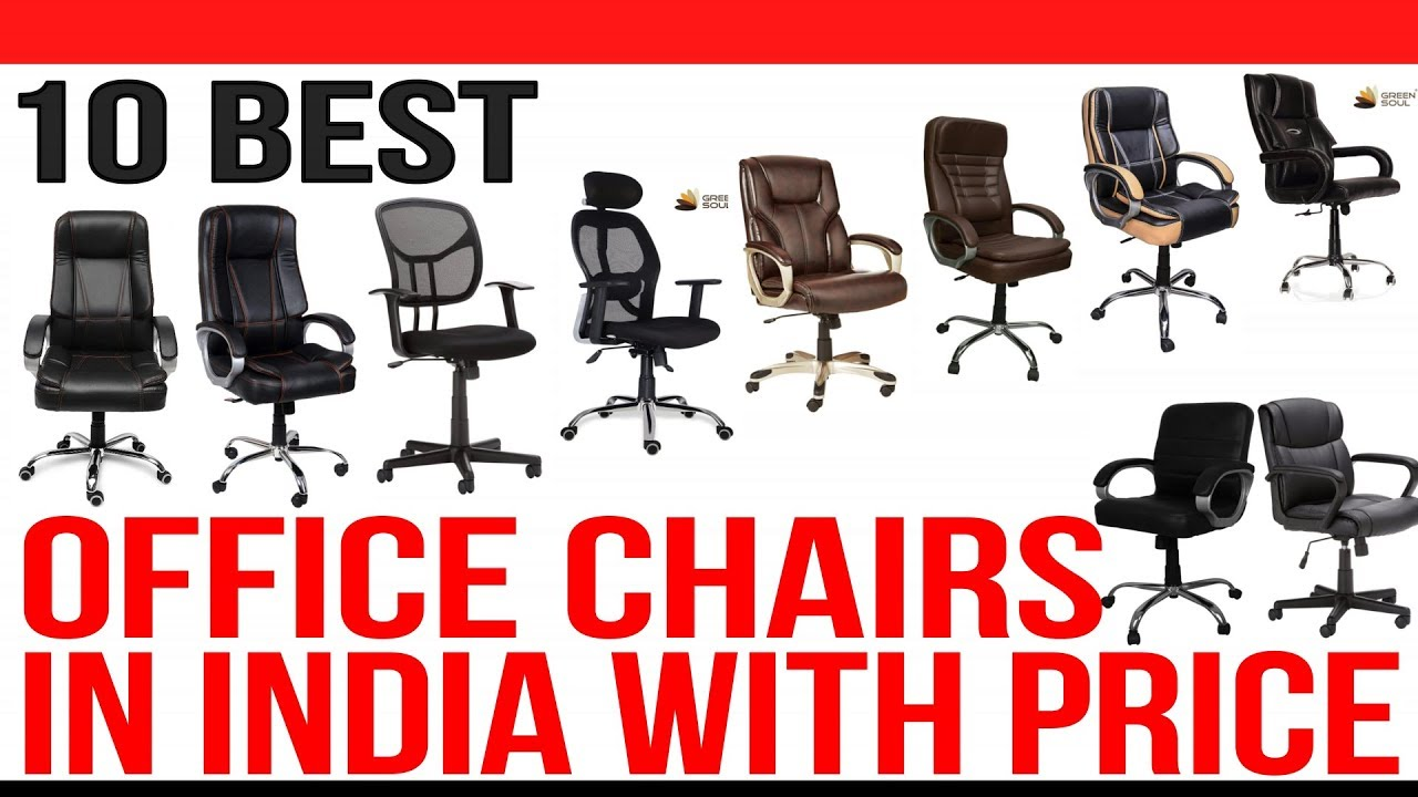 Top 10 Best Office Chairs In India With Price Best Computer Chair India 2020 Youtube