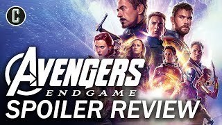 Avengers Endgame Spoiler Review