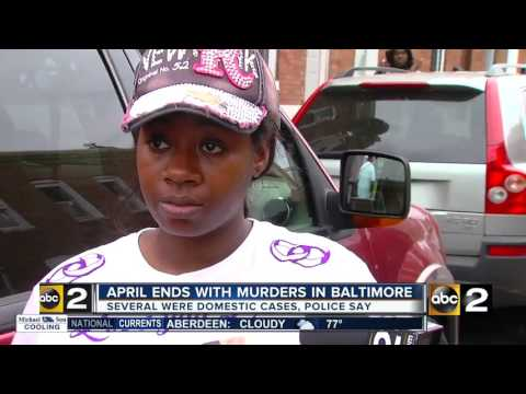 Violent weekend in Baltimore turns into violent week