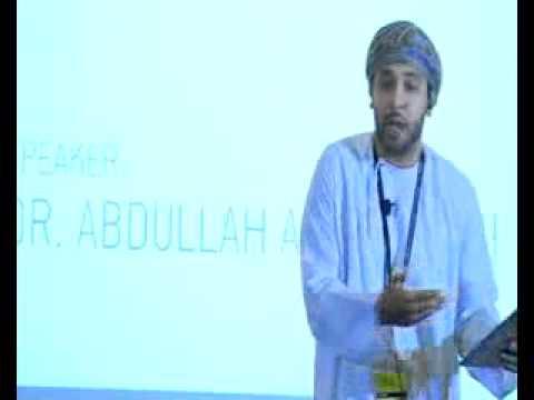 Dr. Abdullah Al Zakwani at TEDxMuscat 2012