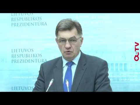 Ministras pirmininkas Algirdas Butkevičius (spaudos konferencija)