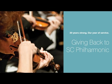 20th Anniversary Service Project:  Bobby Stepp and the SC Philharmonic