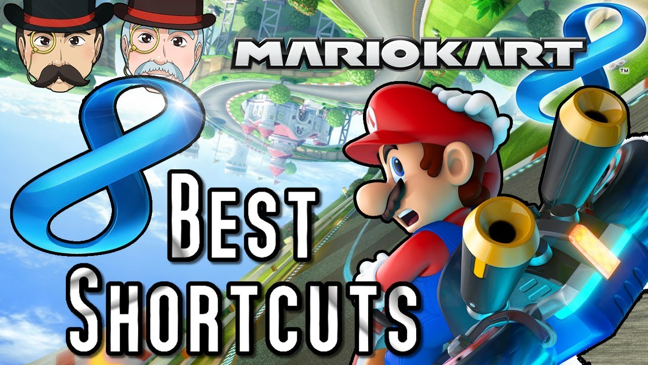 Mario Kart 8 All Shortcuts Corner Cuts Tip Guide By