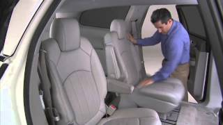 2011 Buick Enclave - 3rd Row Seat Operation   Car Safety
