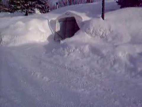 Quebec city snow record 12 feet and more