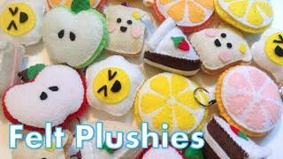 Felt Plushies