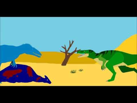 PPBA Ostafrikasaurus vs Veterupristisaurus