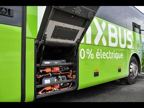 Un nouveau bus 100% électrique relie Paris et Amiens