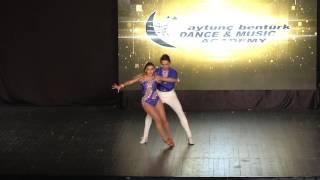 Aytunç Bentürk D.A yıl sonu gösterileri 2017 ABDA DANCERS Aşkım&Gökhay Salsa Show
