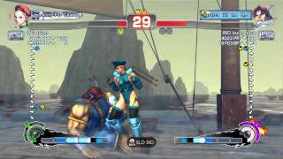 USFIV~ T.Hawk (IND Incognitus) vs.  Cammy (IND Ixion) HD