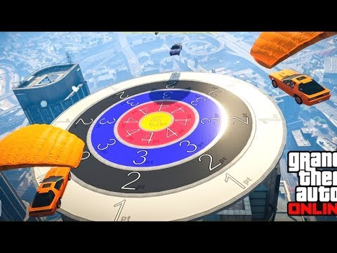 NEW CAR DARTS GAMEMODE! - GTA 5 Funny Moments #706