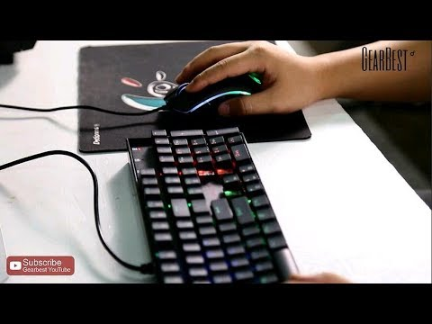 Redragon K551RGB -1 NKRO RGB Mechanical Keyboard & Mouse for LOL - Gearbest.com