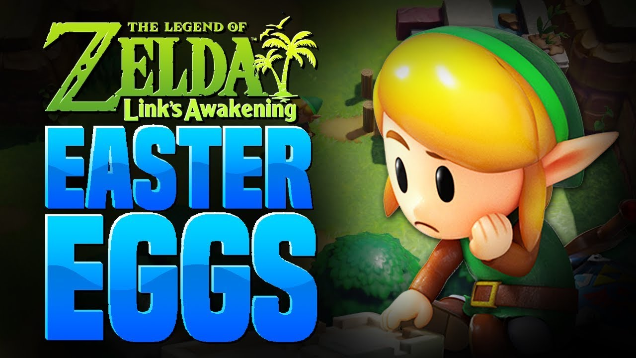 Zelda: Link's Awakening - 5 Secret Easter Eggs/References thumbnail