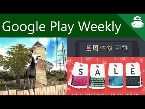 Samsung is getting sued again, new Chromecast and Nexus Player apps, goats! - Google Play Weekly