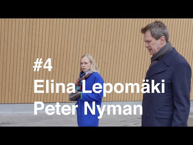 Kävelyllä koronan aikaan - Jakso 4 - Elina Lepomäki Peter Nymanin seurassa.