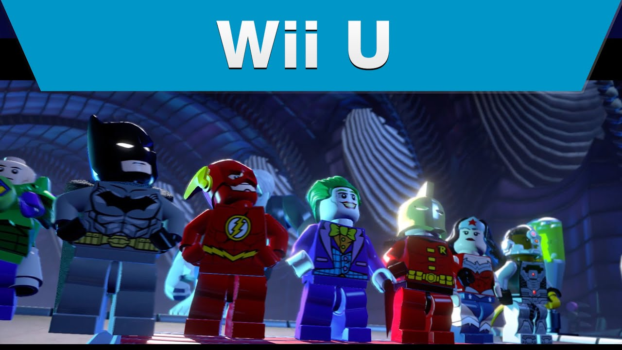 Wii U - Lego Batman 3 Launch Trailer - YouTube