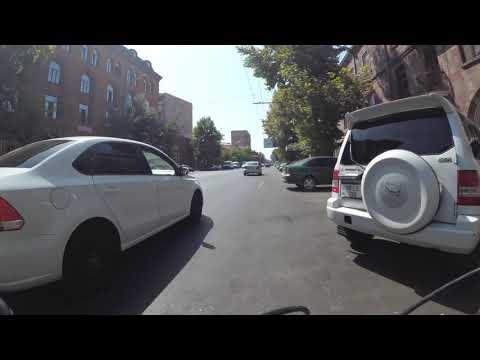 MTB City Ride (04-2) Garegin Njdeh Str. - Yerevan, Armenia  - 60FPS UHD