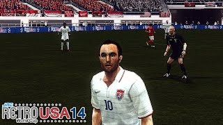 USA vs. Indonesia | jmc Retro World Cup USA 14 | Winning Eleven: Pro Evolution Soccer 6 (PES 6)