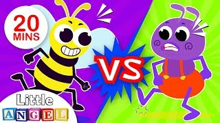 Ants vs Bees, Humpty Dumpty Around the World, My Little Pony & more Fun Kids Songs by Little Angel