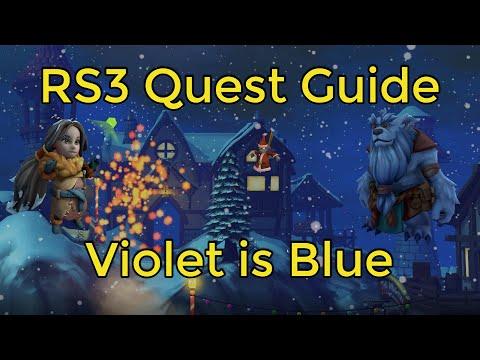 Violet is blue rs3