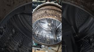 드럼세탁기 청소 -LG 드럼 15kg 오염 청소전