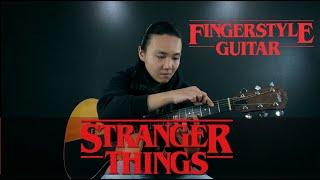 Stranger Things Main Theme Netflix no violo por Jony Ken Fingerstyle Guitar