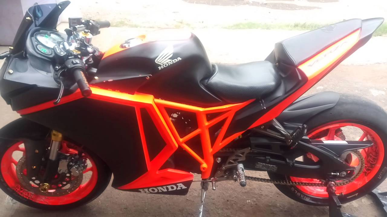 Modifikasi Honda Verza Fullfairimg
